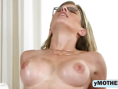 Cory Chase and Lily Rader fuck in hot threesome