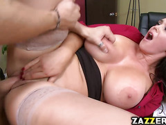 Xander Corvus doggy fuck Alison Tylers thick vagina