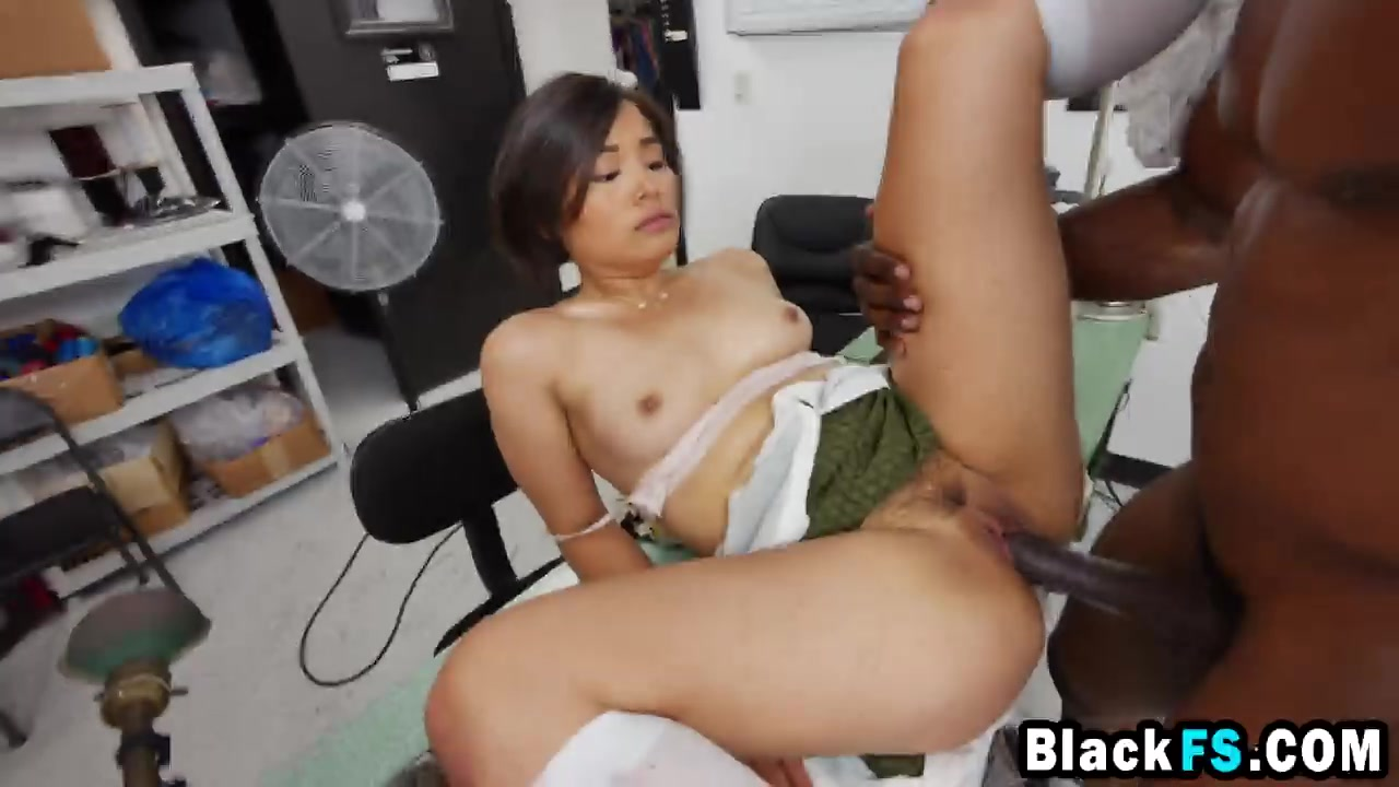 Small asian cocks in black pussys