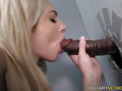 Dahlia Sky Does Anal at Gloryhole