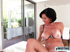 Busty Mother Veronica Avluv Shows Young Emma Ryder How To Achieve Real Orgasm