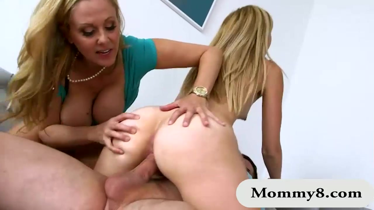 Amazing Threesome alexa grace and julia ann amazing threesome sex on sofa