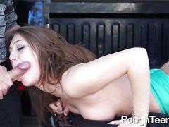 Jojo Kiss Sucks Cock and Pounded Brutally