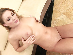 Pornstar Aurora Snow Gets A Big Black Cock Creampie In Her Poop Chute