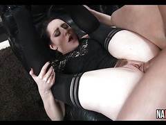 Sexy Slut In Stockings Pussy Licked And Fucked Samantha Bentley