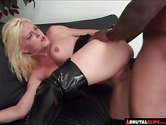 BrutalClips  Blondie Gets an Anal Punishment
