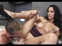 Nice Sexy Ass Brunette Breaktime Office Fucking Isis Love
