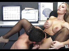 Testing Out The New Secretary's Pussy Nicole Aniston
