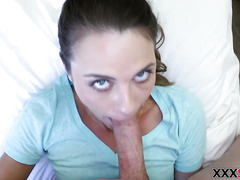 Hot sister Ally Tate seduces her stepbro