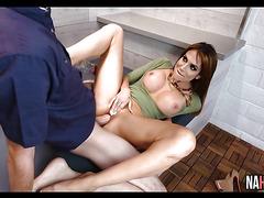 Sexy Petite Brunette In Heels Jaclyn Taylor