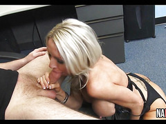 Big Tits Blonde MILF Fucked In Her Office Emma Starr