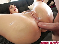 Hot GF Valentina Nappi gets an awesome anal sex