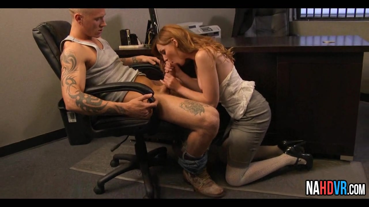 Office marie mccray blowjob