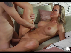 Young Thick Cock For Busty MILF Brandi Love