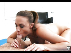 Sexy Brunette Pussy Licked And Fucked Chanel Preston