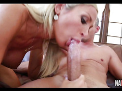 Big Tits Married MILF Rides Cock On Couch Evita Pozzi