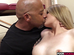 Horny HotWife Summer Carter Gets Fucked By BBC In Front Of Her Cuckold