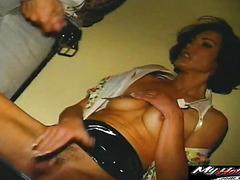 Anal queen Nancy Vee is getting big hard cock she loves best