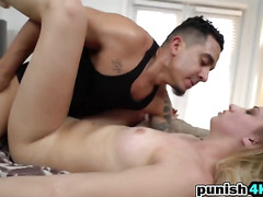 Blonde Sierra Nicole Gets Missionary From Big Dick
