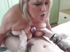 AgedLovE Old Alisha Desire Young Dick