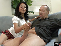 Andrea Kelly is getting used to fuck her step daddy time and again