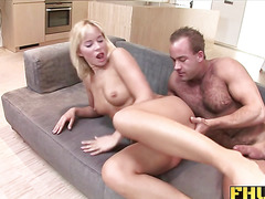 Fhuta  Cindy loves to swallow the load after a good ass fuck