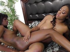 WANKZ- Fine Ass Black Lesbian Sex