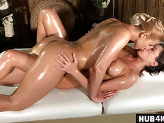 Russian Lesbians Anabelle And Tracy Finger Cunts