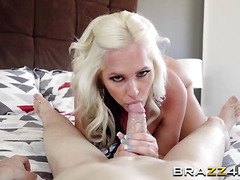 Busty Milf Alena Croft Deepthroats Huge Schlong