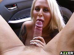 Seductive Alicia Amira hot fuck with a stranger