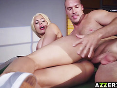Busty Luna Star takes a giant dick in her sexy ass