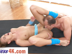 Small tit babe Ivana Sugar gets her sweet hungry vagina licked and fucked