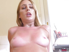 Horny stepdauhter Daisy Stone seduces her stepdad