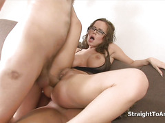 Cindy Dollar Fucked Staight To Anal