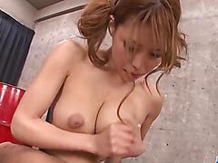 Haruka Sanada, Japanese mom takes good care of cock