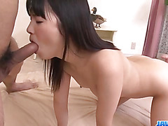Sexy, Tsuna Kimura, sure loves fucking in threesome
