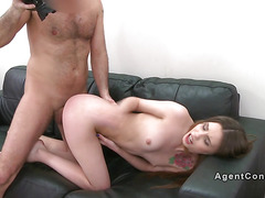 Teen spinner bangs agetns big cock