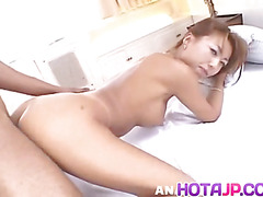 Big titted Mari Amamiya gets double penetrated in a hot threesome