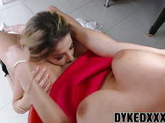 Adriana Sephora and Christie Stevens enjoy fucking wildly