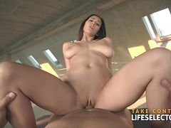 Darcia Lee - Big Boobed Brunette Pleases Her Stepsexy