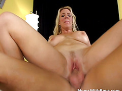 MILF Having Fun With Young Cock