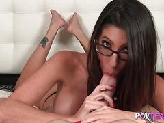 Dava Foxxx is cock sucking queen