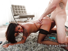 Perfect ass Latina gives road head