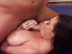 Threesome with big ass milf
