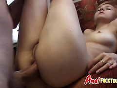 Teen Amateur Homemade Anal Sex Tape POV