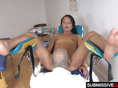 Sweety Nataly Gold Gets Banged By Gynecologist