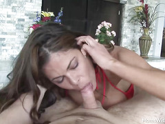MILF Hunter Bryce POV Blowjob With Maintenance Man