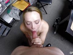 Spy Pov - Monica Rise - Helping future boss cum