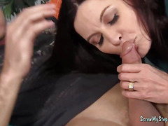 Slutty Milf Bangs Her Stepson