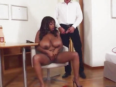 French Big Ass Ebony Pornstar